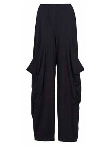 Alembika Alembika Drop Pocket Pant In Black