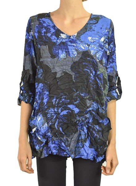 Comfy's Palm Springs Tunic In Austin Print