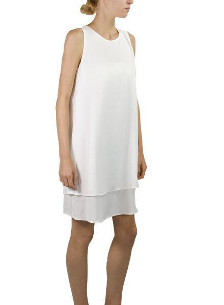 The Hibiscus Dress In White