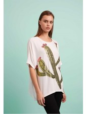 Traffic People's Ouch Top In White