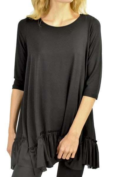 Comfy's Pasadena Tunic In Black