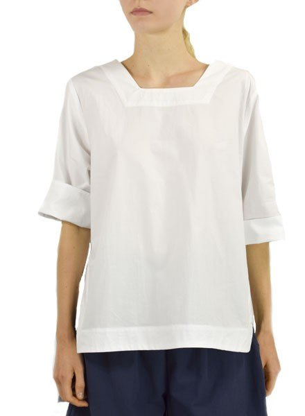 Gershon Bram Fernie Top In White