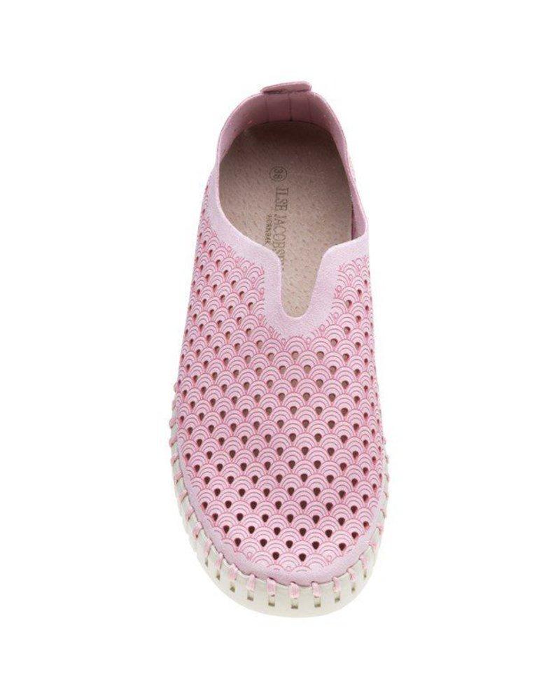 Isla Jacobsen Tulip Shoe In Adobe Rose
