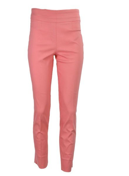 Renuar The Ankle Cigarette Magic Pant In Coral
