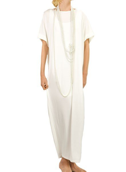 Traffic People Traffic People's Tassel Dress In White