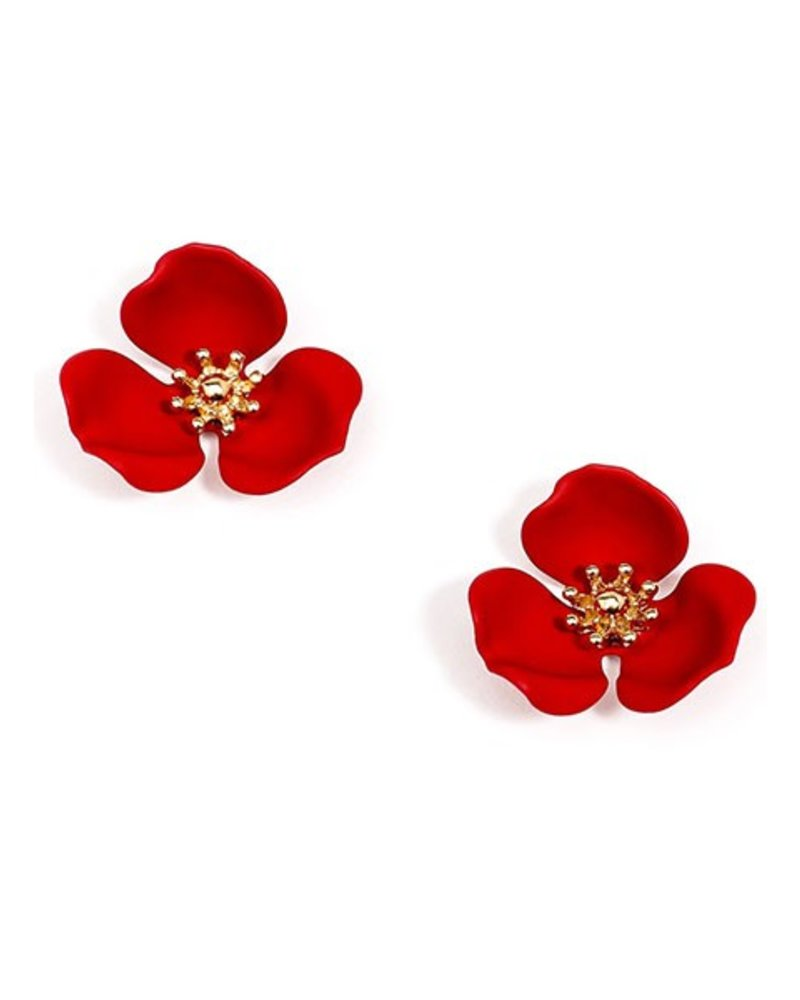 glass ruby shop earrings esta stud murano red