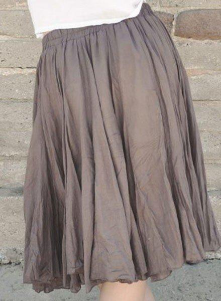 J.P. & Mattie's Fan Skirt In Ovaltine