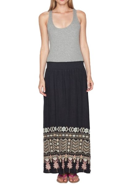 Johnny Was The Evan Maxi Skirt In Black