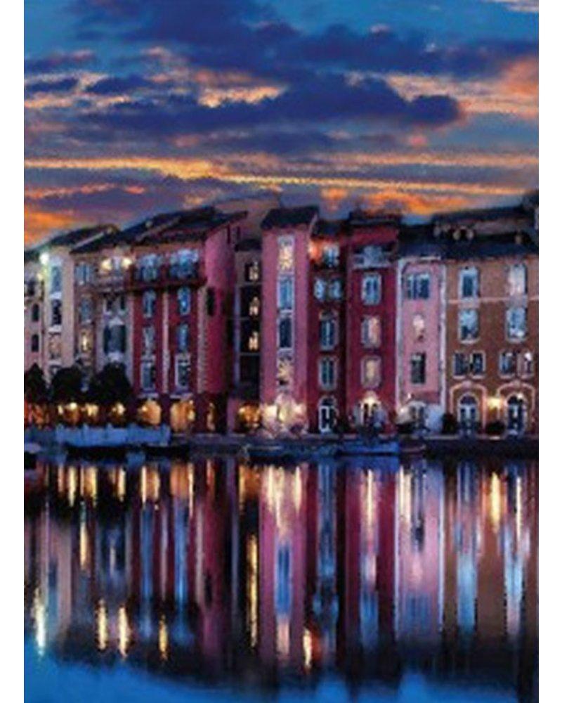 Twilight In Venice Top In Blue