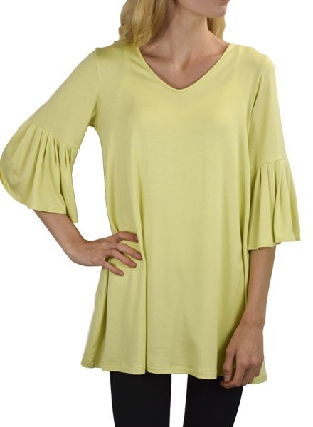 Comfy Bette Tunic In Sun
