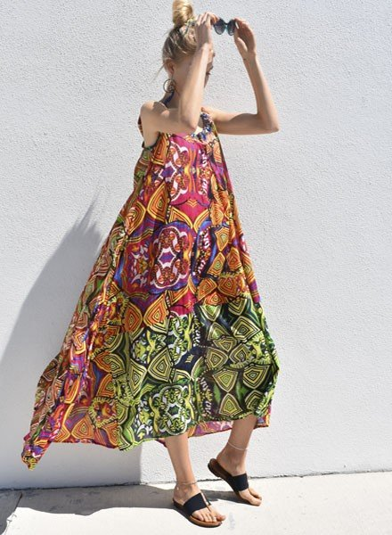 Positano Postiano Long Layla Dress