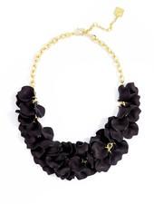 Pastel Petals Necklace In Black