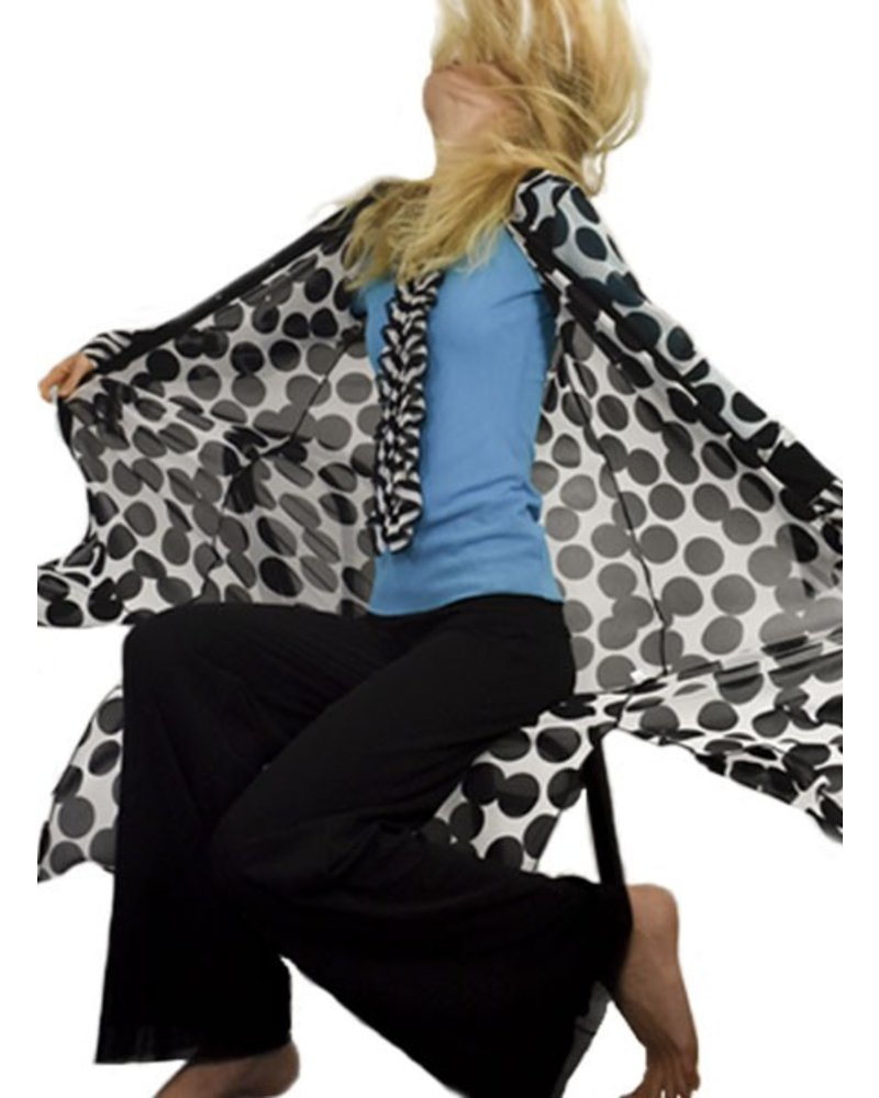 Petit Pois' Long Duster/Top From The Floating Dots Collection