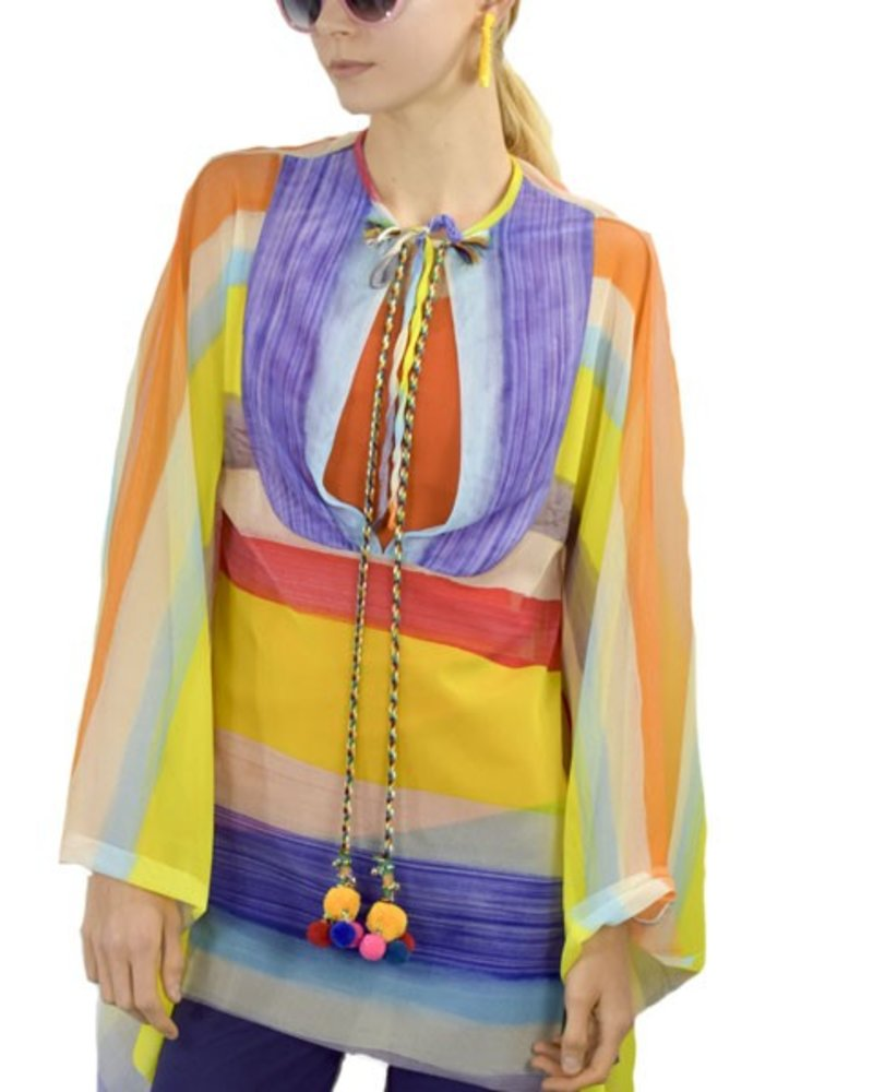 Petit Pois Poncho From The Summer Time Collection