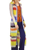 Petit Pois' Long Button Front Shirt From The Summertime Collection