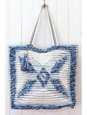Up Cycled Carpet Tote Bag