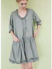 J.P. & Mattie's Shirred Pocket Nina Dress In Fern