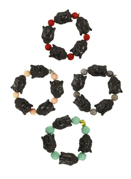 Siddhartha Bracelets In Black