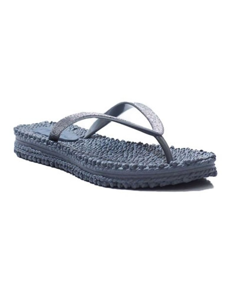 Ilse Jacobsen Ilse Jacobsen Cheerful Flip Flops In Grey
