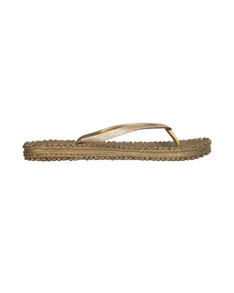 Ilse Jacobsen Cheerful Flip Flops In Gold