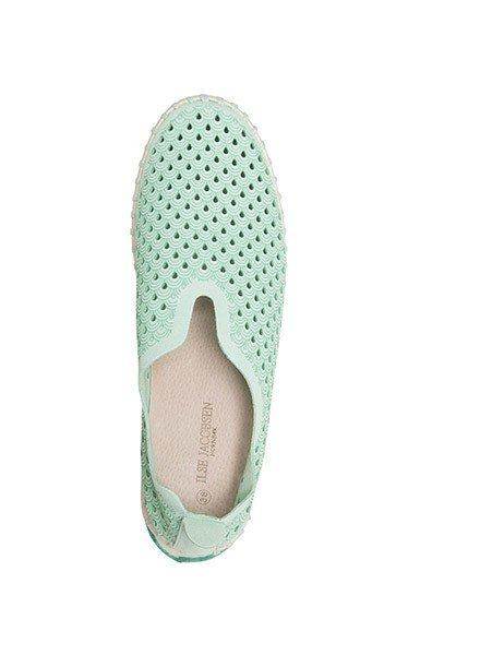 Ilse Jacobsen Ilse Jacobsen Tulip Shoe In Viridian Green