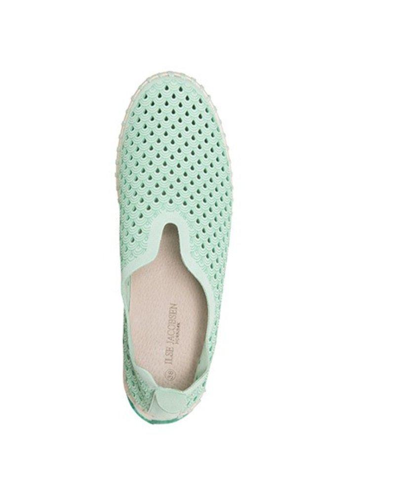Ilse Jacobsen Tulip Shoe In Viridian Green