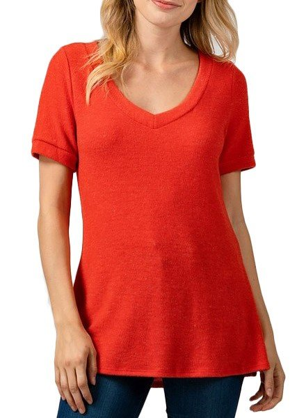 Soft Red Tee