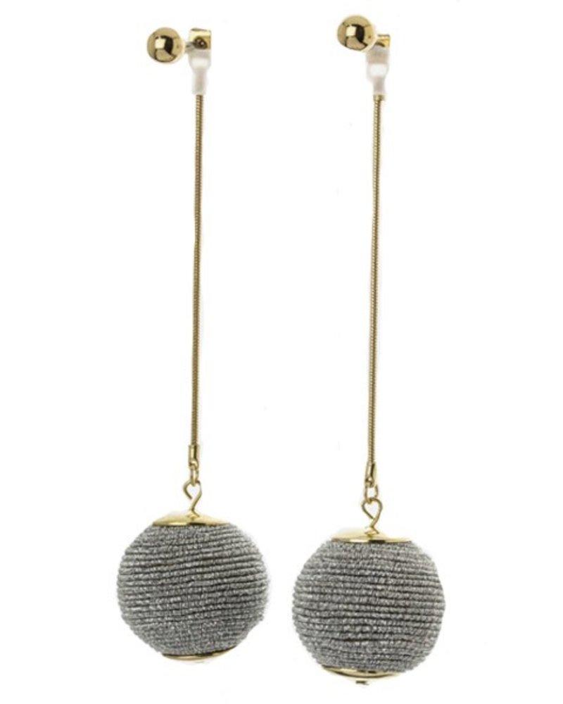 Soul Train Earrings In Silver