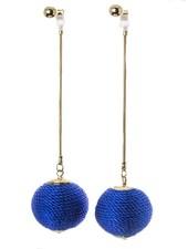 Soul Train Earrings In Blue