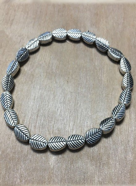 Bali Tiny Leaf Stretch Bracelet