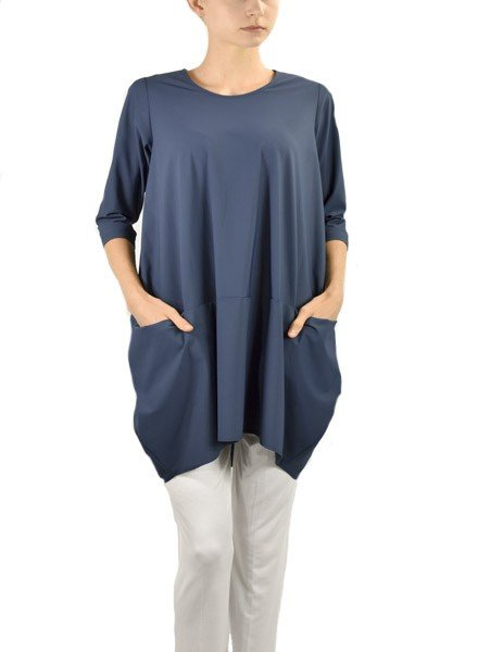 Comfy's Jason Portofino Tunic In Blue Allure