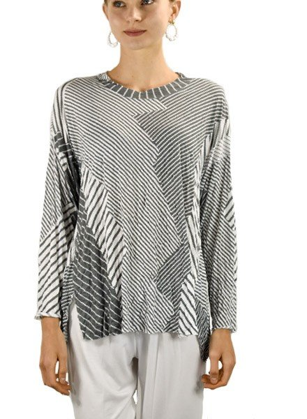 Comfy's Short Tunic Top In Amy Print