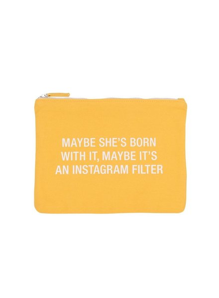 About Face Instagram Filter Cosmetic Bag