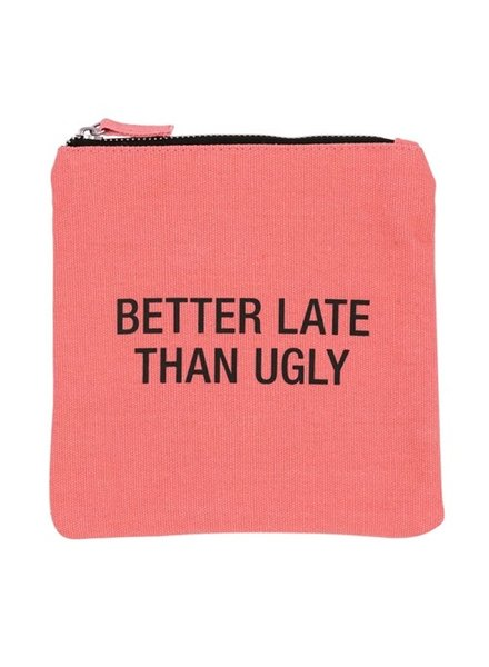 About Face Ugly Cosmetic Bag
