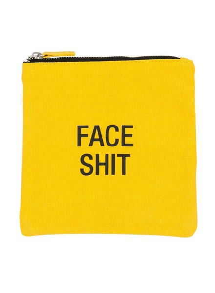About Face Face Shit Cosmetic Bag