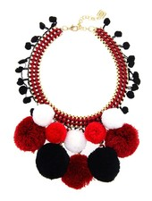 Pom Pom Madness In Red