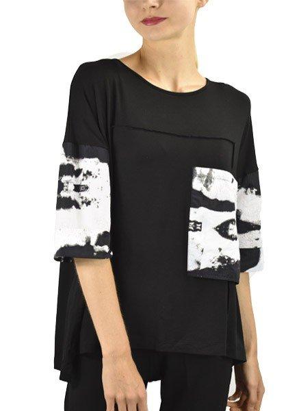 Comfy's Jason Greta Tunic In Black