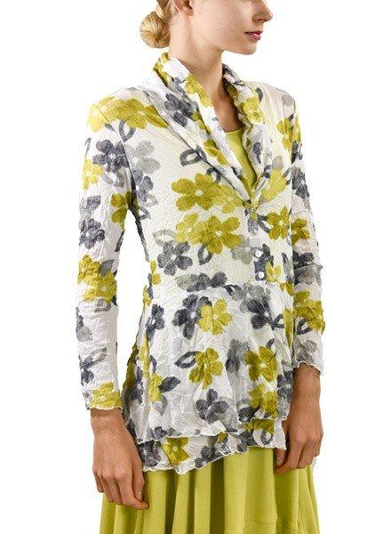 Comfy's Natalie Jacket In Marianne Print