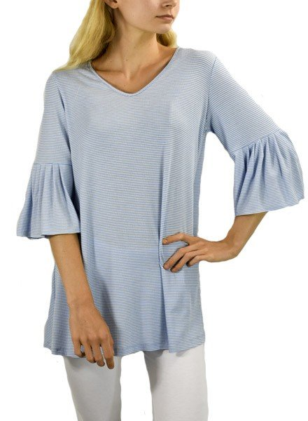 Comfy's Bette Tunic In Theresa Stripe