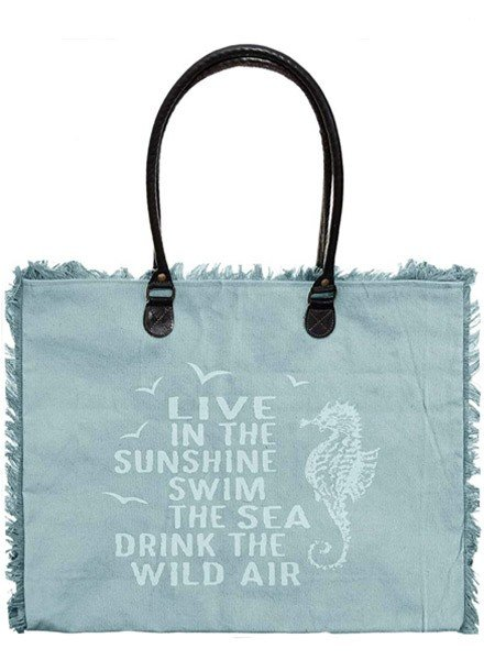 Live In The Sunshine Market Tote