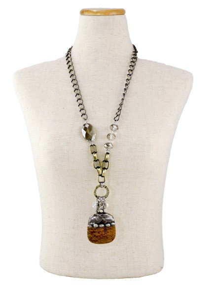 Giant Acorn Handmade Necklace
