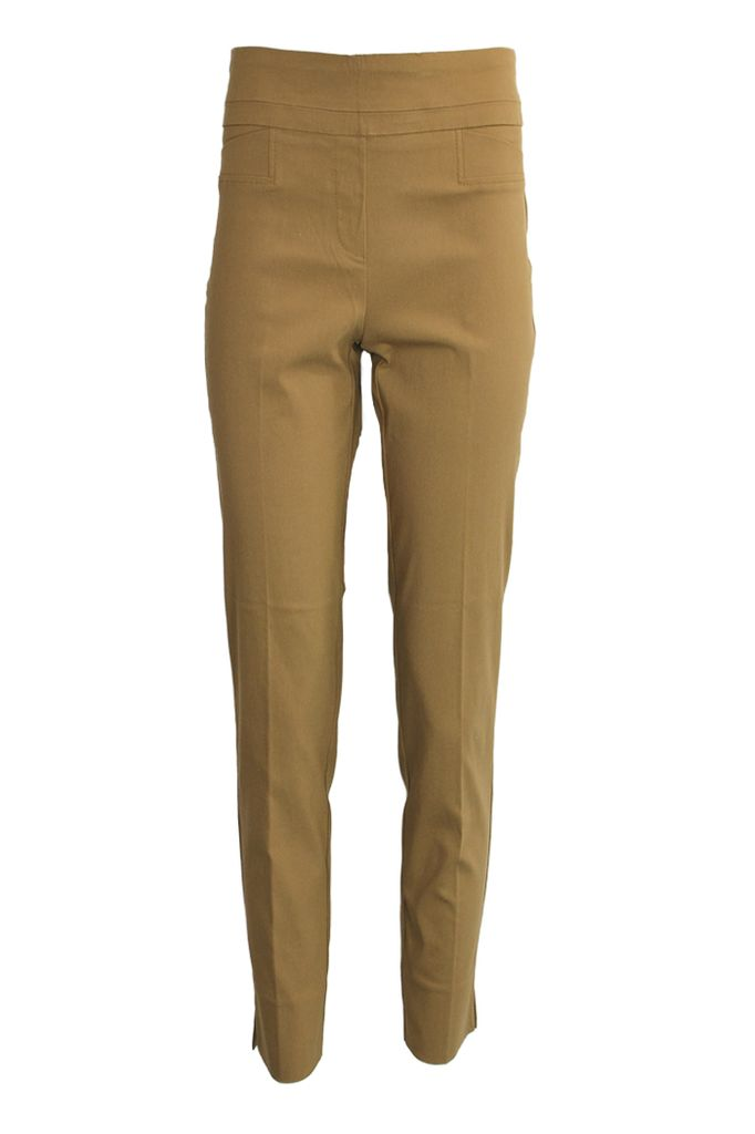 The Ankle Cigarette Magic Pant In Cognac Shady And Katie