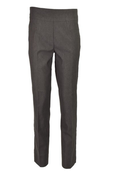 Renuar The Ankle Cigarette Magic Pant In Heather Charcoal