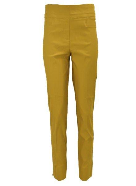 Renuar The Ankle Cigarette Magic Pant In Saffron