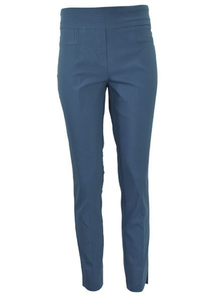 Renuar The Ankle Cigarette Magic Pant In Teal