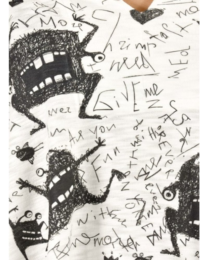 Inoah Inoah Love Monster Top