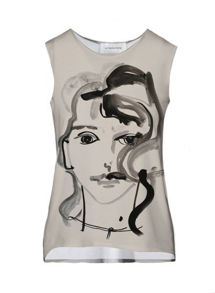 Le Galeriste Coco Tank In Woman