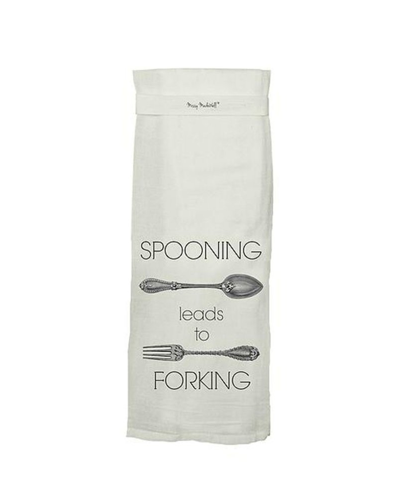 Spooning Hang Tight Towel