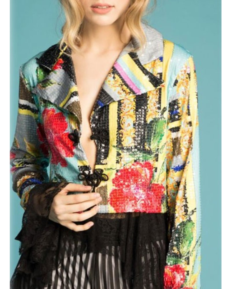 Petit Pois Peplon Jacket From The Versailles Collection