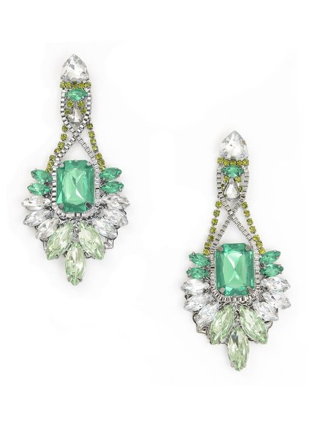 Glitz And Flair Statement Earrings